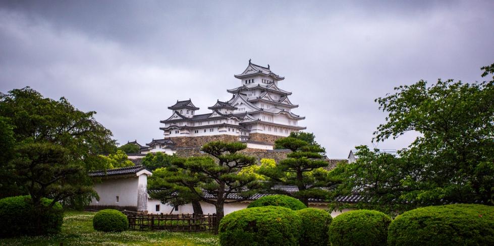 Himeji castle in all it's glory