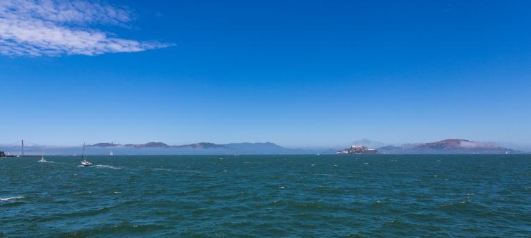 Looking towards Alcatraz